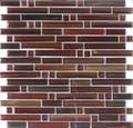 DaVinci glass tile handicraft II Linear series Frisco