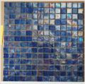 Kaleidoscope glass tile Purple Rain 1x1
