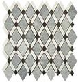 Nova Stone Diamond series Mugworth Thassos White and Basalt