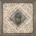 Pineapple Mosaic Tile Backsplash Medallion 12 inches