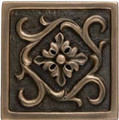 Fresco Flower Accent tile 4 x 4