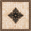 Tribecca Mosaic Medallion 12 inches