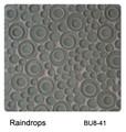 Raffi Bubbles Glass Tile Rain Drop