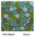 Raffi Bubbles Glass Tile Palm Beach