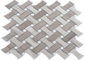 Soho Studio Fancy Weave Wood Beige, Athens Gray With Thassos Dot