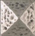 Landmark Metal Egyptian Baby Deco Accent Tile 1x1