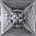 Landmark Metal Clavo Deco Accent Tile 2x2