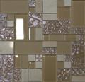 Unicorn Glass Tile Swirl Tan