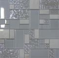 Unicorn Glass Tile Swirl White