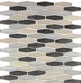 Nova Glass Tile Modern Pyramids Royal Tweed  MPS231