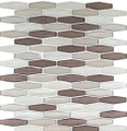 Nova Glass Tile Modern Pyramids Navajo Dune MPS235