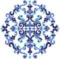 Masterpiece medallion mosaic pool inlay