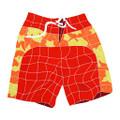 Red Short mosaic pool inlay