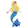 Mermaid Blonde mosaic pool inlay
