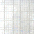 Hakatai Luster Series Snow glass tile