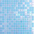 Hakatai Luster Series Capri Blue blend glass tile