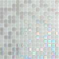 Hakatai Luster Series Silver Brocade blend glass tile