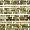 Sundown brick glass tile amber series