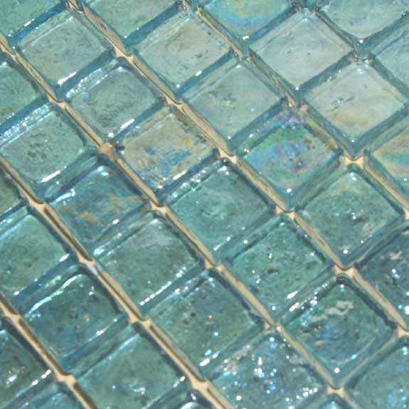 seaside glass tile sea blue
