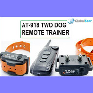 Aetertek 918B-2 600 Yard 9 Level 2 Dogs Training Anti Bark & Waterproof Collar