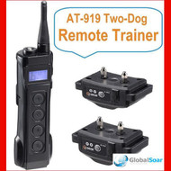 Aetertek 919B-2 1100 Yard 10 Level 2 Dogs Training Anti Bark & Waterproof Collar