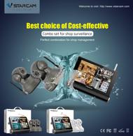 Vstarcam NVS-K200-TZ37-B Best Choice of Cost-effective(Indoor)