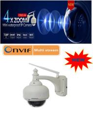 Vstarcam C7833WIP-X4 HD Optical 4X Zoom PTZ Network Camera(Outdoor)