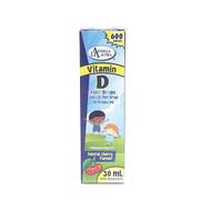 Omega Alpha Kids drops Liquid Ca+ Vitamin D   30ml(600 drops)(加拿大 Omega Alpha 儿童液体钙+维D 浓缩液滴剤 30ml(600 滴))