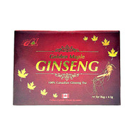 GOLDEN MAPLE 100% Canadian Ginseng Tea  4.5g x 18 Tea Bags(加拿大GOLDEN MAPLE 花旗参茶 大礼盒裝  4.5g x 18茶包)