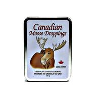CANADA TRUE Moose mark Chocolate coated Almonds 230g(加拿大 CANADA TRUE 鹿标杏仁粉外衣巧克力   精美鉄盒裝 230g)