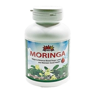 NEW NATURE Moringa De-Glucose  120vetable caps(加拿大NEW NATURE 辣木降糖丹 120粒入)