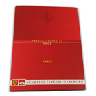 Ferrari F2003 Presentation Press Kit