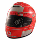 Michael Schumacher Signed 2006 Brazil GP Full Size Replica Helmet