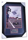 2009 Mark Webber 'First Win' Signed Frame
