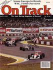 "Ayrton Senna Signed 1991 ""On Track"" Magazine"