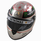Michael Schumacher Signed 1:2 Size 2012 SPA 300 Races Platinum Edition Helmet