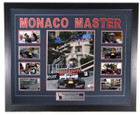 Mark Webber 'Monaco Master' 2010 - 2012 Monaco Win Limited Edition Signed Frame