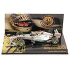 Michael Schumacher 2011 SPA  '20 Years in F1' Gold Helmet 1:43 Limited Edition Model