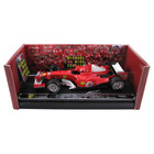 Michael Schumacher SIGNED 'Grazie Schumi' 5-Time Monza Winner Limited Edition 1:18 Ferrari Model