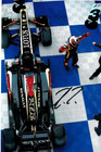 Kimi Raikkonen Signed Framed Lotus 2013 Photograph - 2