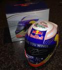 Daniel Ricciardo Signed Half Scale Replica Helmet