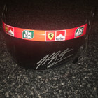 Michael Schumacher Race Used and Signed 2001 Schuberth Visor
