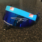 Fernando Alonso Race Used and Signed Ferrari 2011 Visor