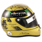 Michael Schumacher Signed 1:2 Size 2011 SPA Gold Edition Helmet