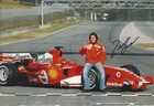 Felipe Massa Signed Photograph Launch 2006