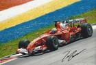 Felipe Massa Signed Photograph Malaysia 2006 - 2