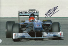 Michael Schumacher Signed Photograph 2010 - 2