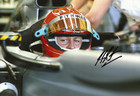 Michael Schumacher Signed Photograph 2010 - 5