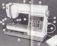 Elna Club 500 Sewing machine instruction manual