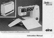 Elna Stella SP Instruction manual